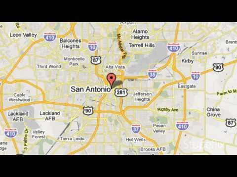 San Antonio Street Map | I-35 San Antonio
